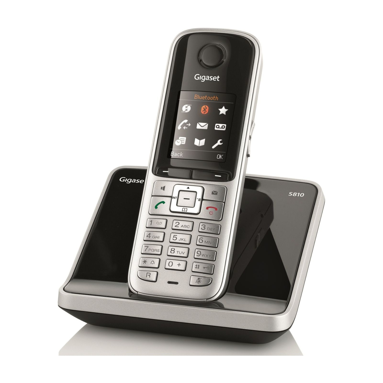 siemens gigaset s810 cordless phone without answering. Black Bedroom Furniture Sets. Home Design Ideas