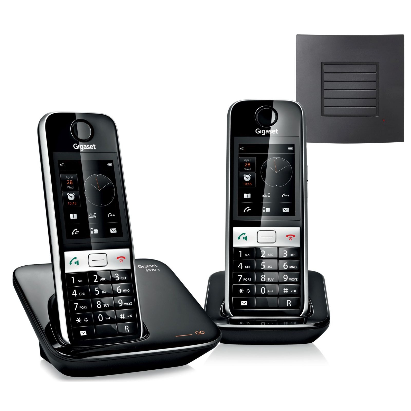 Gigaset S820A Twin DECT Phones with Repeater
