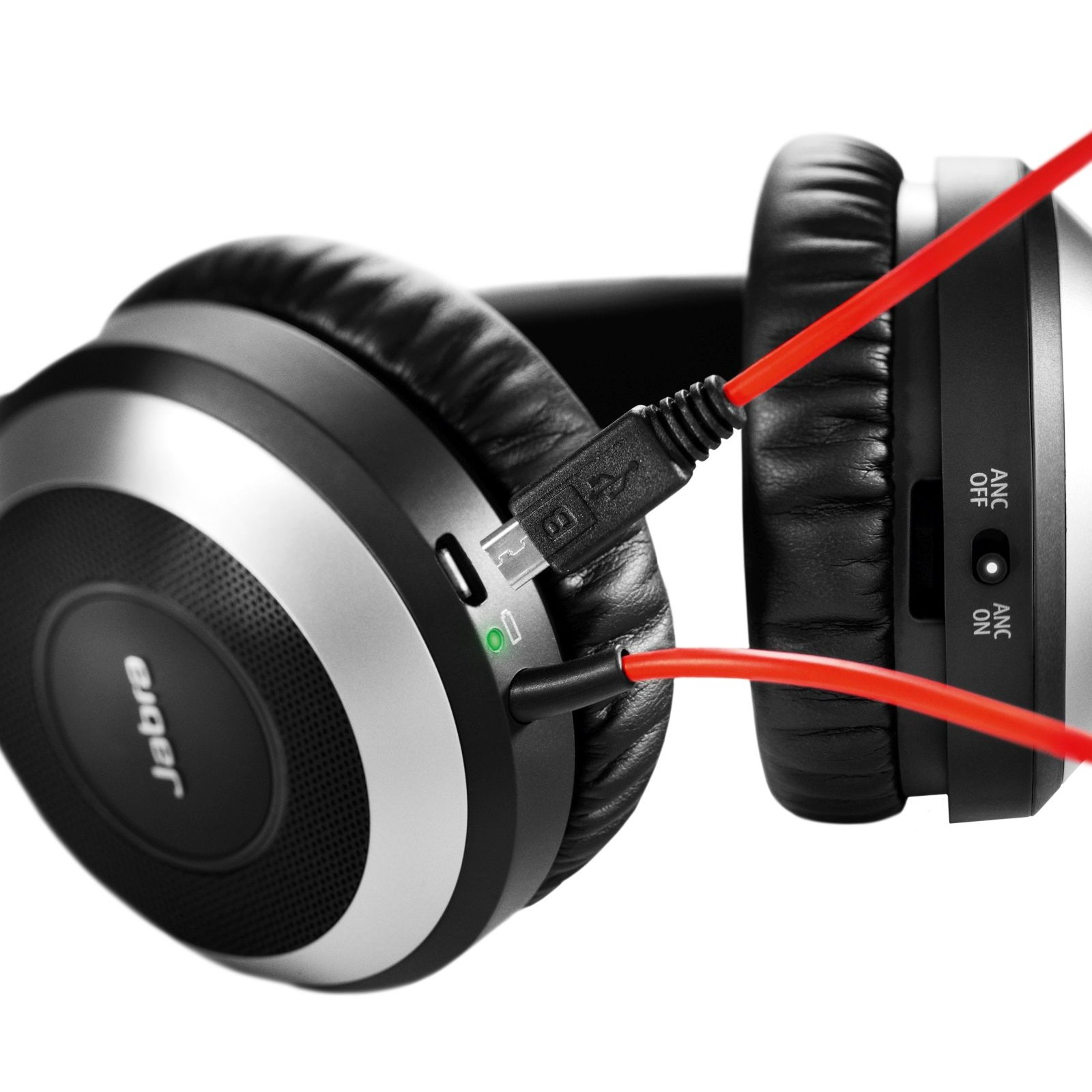 Jabra Evolve 75 Ms Stereo: Jabra EVOLVE 80 MS Stereo Headset For PC, Smartphone