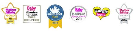 BT Digital Baby Monitor Awards