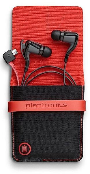 Plantronics Backbeat GO 2 with case