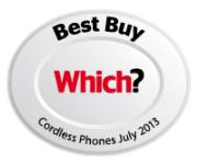 Panasonic 8562 Which? Best Buy Cordless Phone