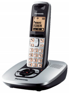 The new panasonic kxtg 6421 revealing good looks ligo blog the panasonic kxtg 6421 can be personalised with up to 16 different ringtones and has many value added features as standard including incoming call sciox Choice Image