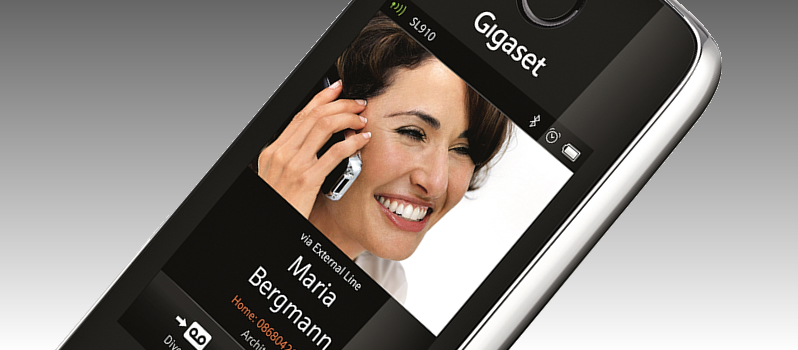 Gigaset Picture Caller ID cordless phone