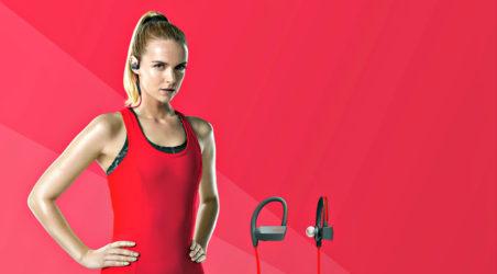 Go True Wireless with the Jabra Sport Headphones