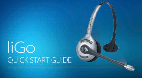 LiGo quick start guide: Plantronics C351N Registration